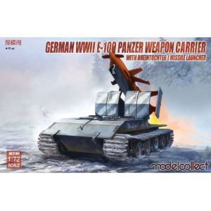 E-100 panzer weapon carrier with Rheintochter 1 missile