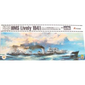 HMS Lively 1941 1/700