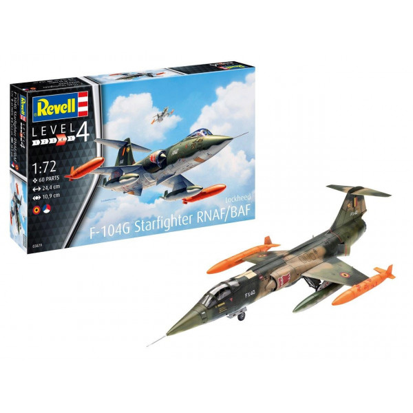 F-104 G Starfighter RNAF/BAF 1/72
