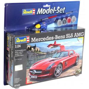 Mercedes SLS AMG (model set) 1/24