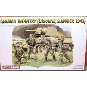 German Infantry, Ukraine, Summer 1943 (WWII)