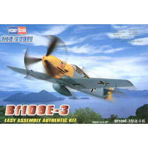 Bf-109 E-3 'Easy Build