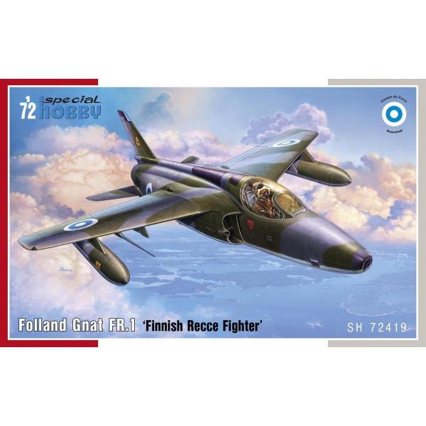 Folland Gnat FR.1 Finnish Recce Fighter