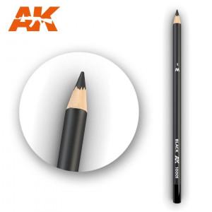 AK10001 Black Watercolor pencil
