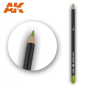 AK10007 LIGHT GREEN Watercolor pencil
