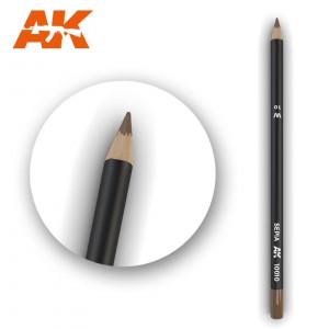 AK10010 SEPIA Watercolor pencil