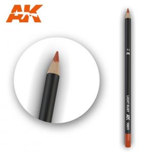 AK10011 LIGHT RUST Watercolor pencil