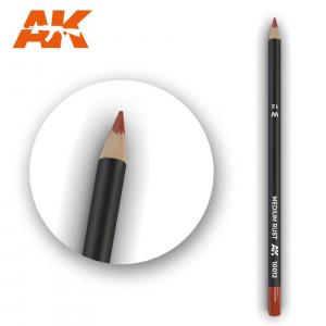 AK10012 MEDIUM RUST  Watercolor pencil