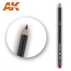 AK10013 DARK RUST  Watercolor pencil