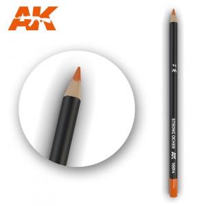 AK10014 STRONG OCHER Watercolor pencil