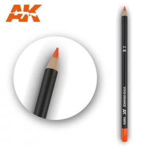 AK10015 VIVID ORANGE Watercolor pencil