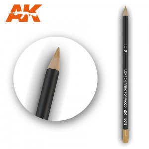 AK10016 LIGHT CHIPPING FOR WOOD Watercolor pencil