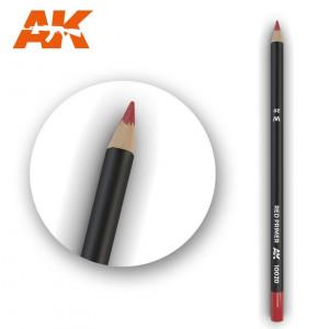 AK10020 RED PRIMER Watercolor pencil