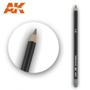 AK10021 GREEN BLUE Watercolor pencil