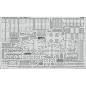 German Submarine Type IX C part 1 (U67/ U154) 1/72