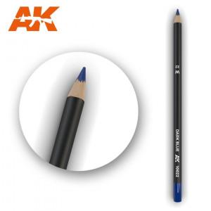 AK10022 DARK BLUE Watercolor pencil