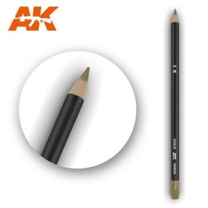 AK10034 GOLD Watercolor pencil