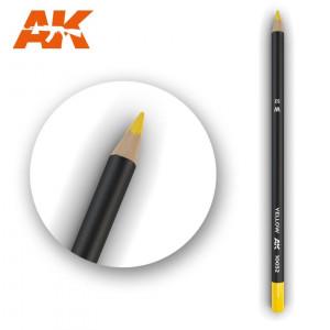 AK10032 YELLOW Watercolor pencil