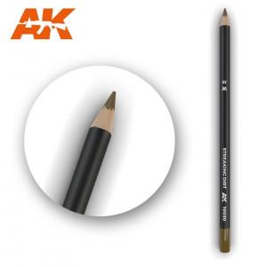 AK10030 STREAKING DIRT Watercolor pencil