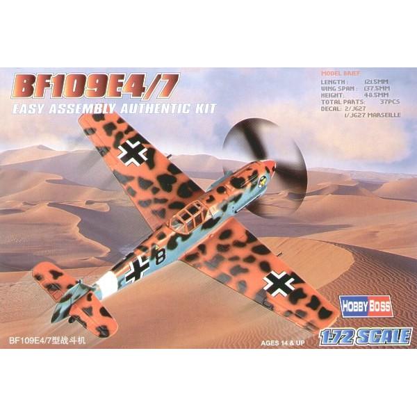 Bf-109E-4/7 easy built