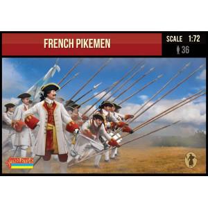 French Pikemen Spanish Succession War  1/72