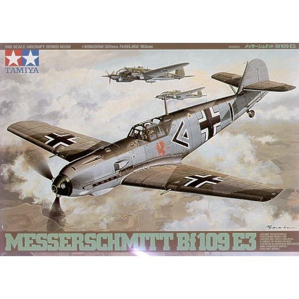 Messerschmitt Bf-109 E-3 1/48