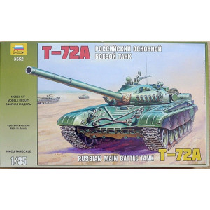 T-72A Russian main battle tank 1/35