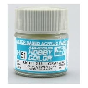 H 051 Gloss Light Gull Gray