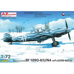Bf109 G-6/U/N4 with FuG 350 Naxos 1/72