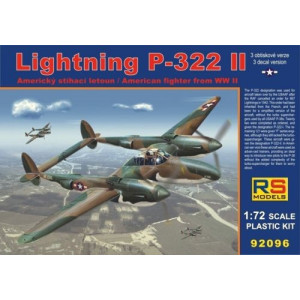 Lockheed Lightning P-322 II 1/72