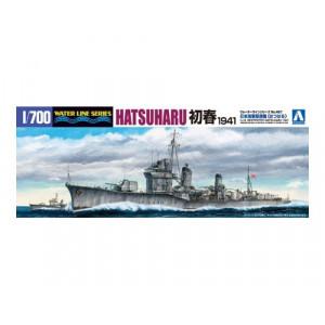 Japanese DESTROYER HATSUHARU 1941