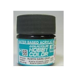 H 068 Semi Gloss RLM 74 Dark Gray
