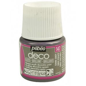 DECO Gloss 45ml DARK GREY