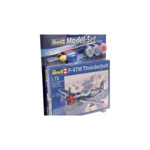 P-47M Thunderbolt Model Set 1/72