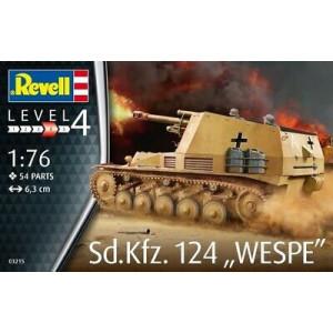 Sd. Kfz. 124 Wespe 1/76