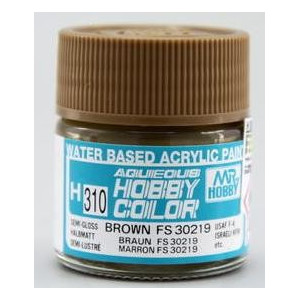 H-310 Semi Gloss Brown FS 30219