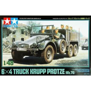 6x4 Truck Krupp Protze (Kfz.70) 1/48