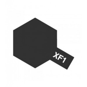 XF-1 Flat Black - Enamel (Flat) 10 ml