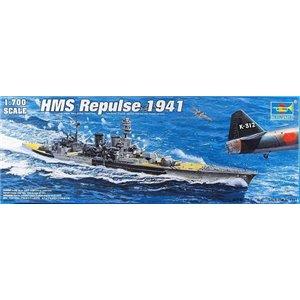 HMS Battle Cruiser Repulse 1941 1/700