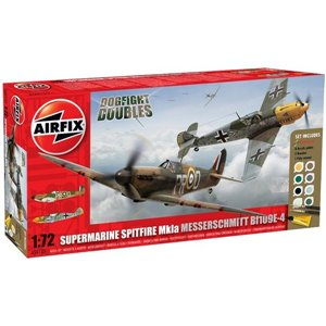 Spitfire Mk1a & Bf109E Dogfight Doubles (1/72)