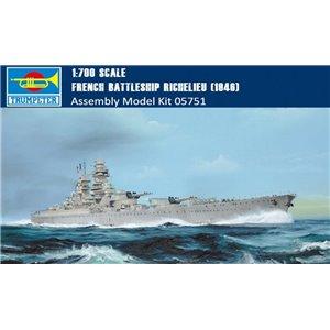 Battleship Richelieu 1946 1/700
