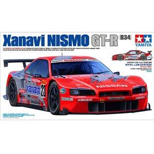 Xanavi Nismo GT-R (R34) 1/24