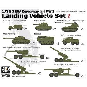 USA Landing Vehicle Set 2 Korean War