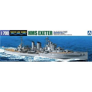 British Cruiser HMS Exeter 1/700