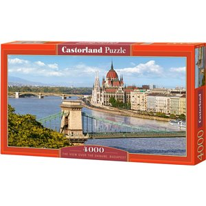 The View Over The Danube, Budapest Puzzle 4000pcs