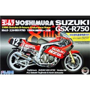 Suzuki GSX-R750 Bike-2 Yoshimura 1/12