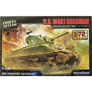 US M4A1(75) Sherman Cast Hull 1/72