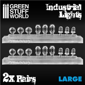 18x Resin Industrial Lights - Large