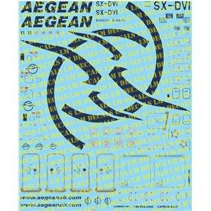 Aegean Airbus A320 1/144