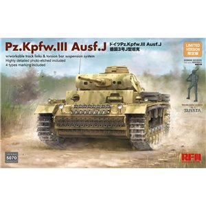Panzer III Ausf. J w/workable track links